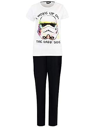 Star Wars Pijama para Mujer La Guerra de Las Galaxias
