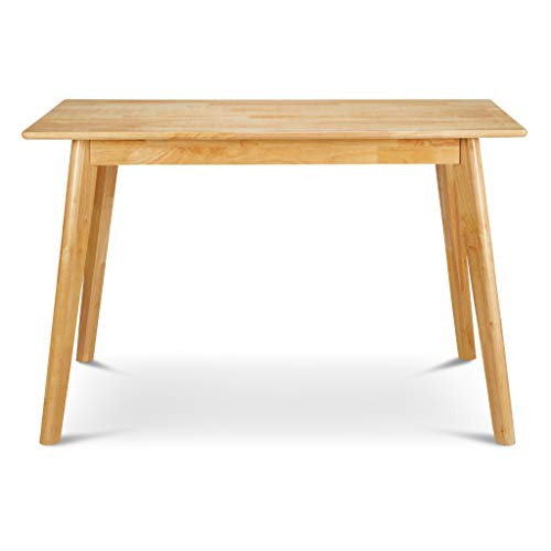 PJ Wood Kitchen Dining Table - Natural