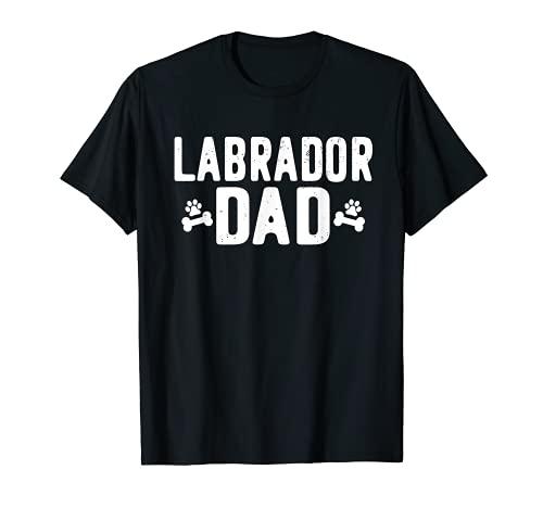 Labrador Dad - Divertido traje de regalo para amantes del labrador Camiseta