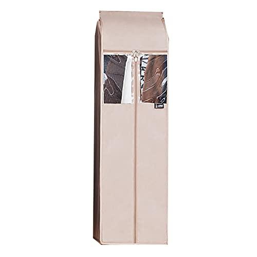 Table one Coperture per La Protezione dei Vestitiv Buste Sottovuoto, Tessuto Spesso-Tessuto-Grande capacità, Lavabile, Adatto per Stendibiancheria Unipolare(Size:29 * 52 * 85cm,Color:Giallo)