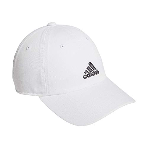 adidas Youth Kids-Boy's/Girl's / Ultimate Relaxed Adjustable Cap, White/Onix, ONE SIZE