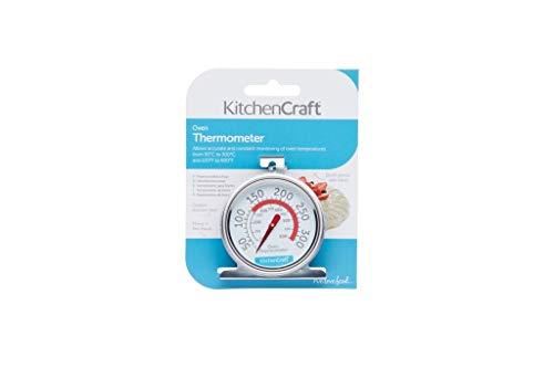 Kitchen Craft Thermomètre de four, acier inoxydable