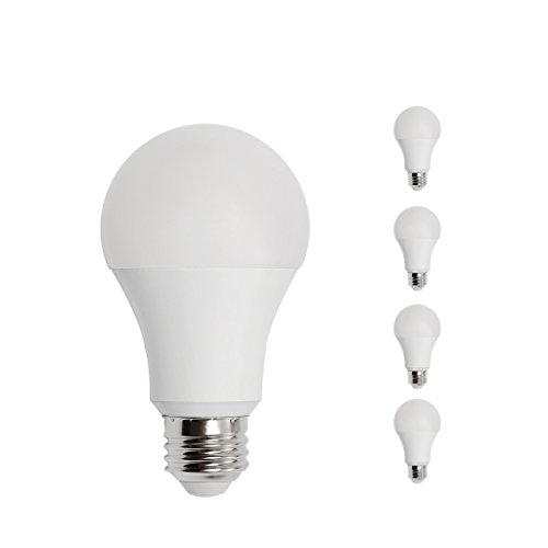 A19 LED Light Bulb, 14W E26 Medium Screw Base, 100 watt Incandescent Equivalent, 2700K Soft White 1600lm, UL Listed, 4 Pack