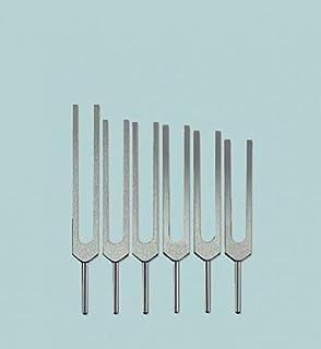 Solfeggio Tuning Fork Set - 6 Tuning Forks
