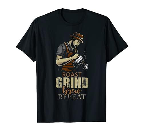 Cafetera amantes del café regalo barista Camiseta