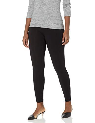 Hue Women s Ultra Legging with Wide Waistband - Medium - Black