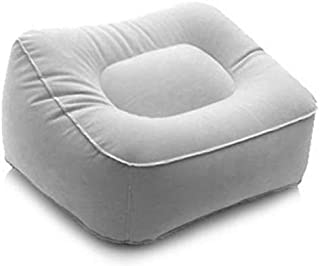 Comfort Axis Inflatable Foot Rest Pillow for Travel, Office and Home