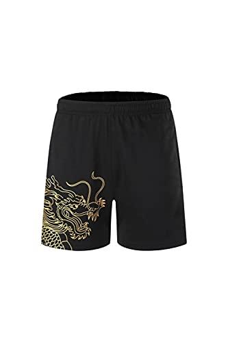 Tenis de mesa Ropa camiseta Hombres y Mujeres Parejas Tenis de Mesa Ropa Transpirable Absorbente de Sudor Ropa de Tenis de Mesa Camiseta Deportiva, 6 (Reino Unido), 50