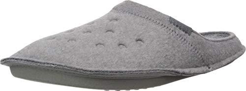 Crocs Unisex Adults Classic Slipper, Charcoal/Charcoal, 11 UK (46/47 EU)