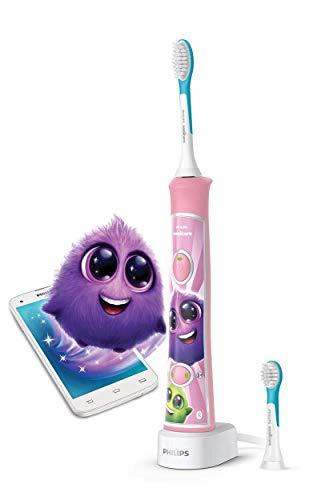 Philips Sonicare HX6352/42 Elektrische Zahnbürste für Kinder, Rosa