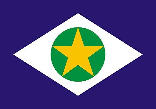 magFlags Drapeau XL+ Mato Grosso | Drapeau Paysage | 2.4m² | 120x200cm