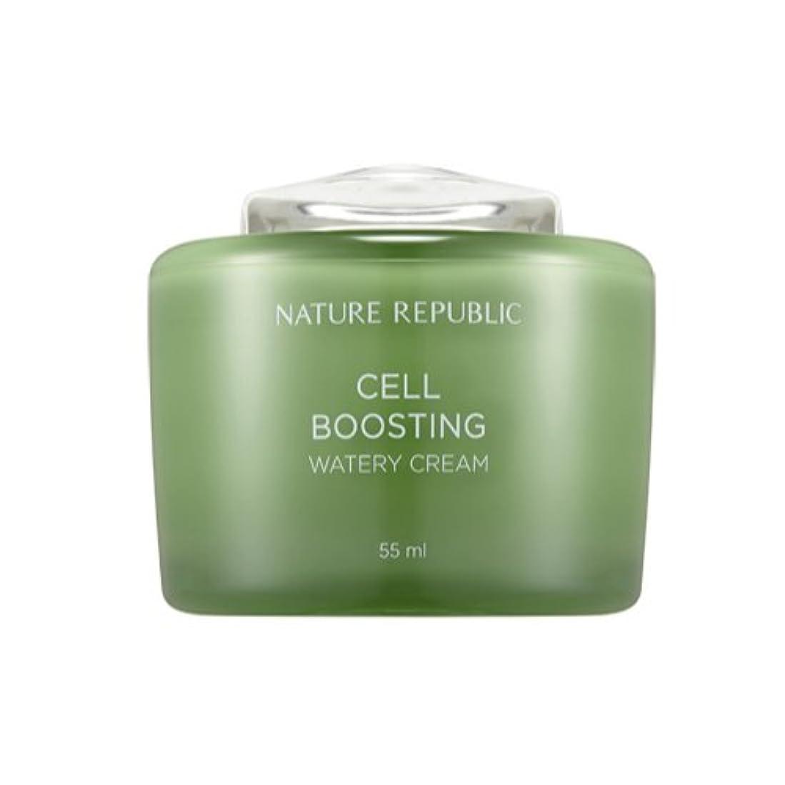 ウサギ商人一定[ネイチャーリパブリック] Nature republicセルブースティングウォーターリークリーム海外直送品(Cell Boosting Watery Cream) [並行輸入品]