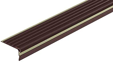 【ナカ工業】 住宅用階段すべり止め スベラーズS-40 (670mm×14本) (茶)