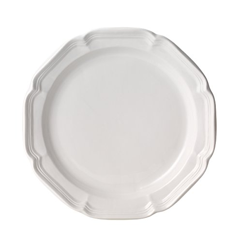 Mikasa French Countryside Dinner Plate, White, 10.75-Inch - F9000-201