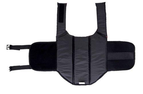 Chaleco Salvavidas para Perros para Dog Vest Life Jacket Entrenamiento de natación de Perros con Cierres de Clic Ajustables y Tiras Reflectantes, Disponible en 5 tamaños Diferentes, Rojo, L