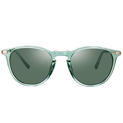 TSEBAN Vintage Polarizadas Gafas de Sol Mujer UV400 Protecci