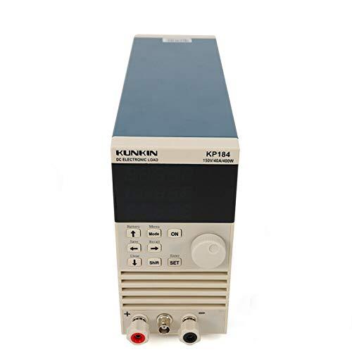 Comprobador electrónico de carga CC de un canal único KP184 400 W 40 A según el comprobador de capacidad de batería de laboratorio estándar europeo