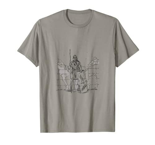 Romano, soldado romano, legionario con armadura, en el Limes Camiseta