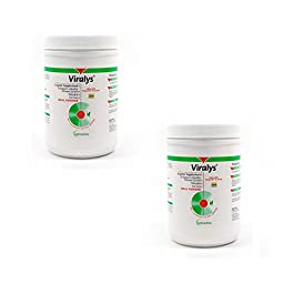 Vetoquinol Viralys L-Lysine Supplement for Cats – Cats & Kittens of All Ages – Immune Health – Sneezing, Runny Nose, Squinting, Watery Eyes – Flavored Lysine Powder