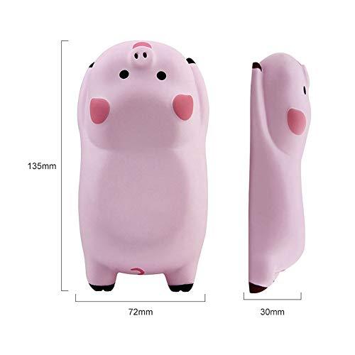 2個セットマウス用リストレストかわいい豚のデザインソフト快適低反発マウスマットハンドレスト手首クッション柔軟人間工学滑り止めオフィス/ゲーム/ノートパソコン/PC用(2セット/ピンク)