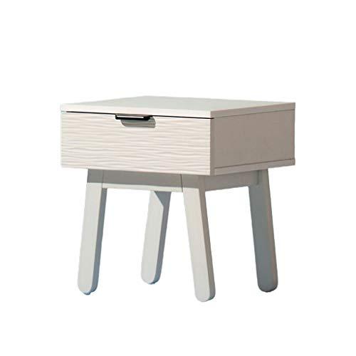 Jiji nachtkastje met 1 lades - nachtkastje aan het bed plafond tafelkastje voor thuis, slaapkamer accessoires nachtkastje