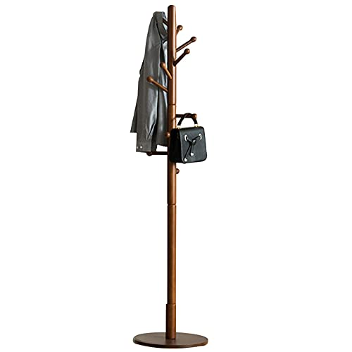 ZHIWUJIA Percha Perchero en Forma de árbol Perchero Elegante Puede soportar 20 kg Puesto de Paraguas Colgador de Sombreros con el Fin de Dormitorio Sala de Estar 40x40x180cm / 15.(Color:marrón)