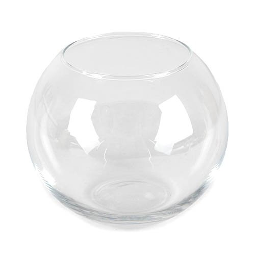 Glas Vase Kugel, 10 cm
