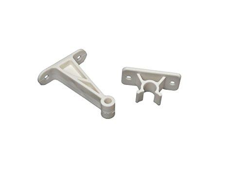 RV Designer E241, Plastic Door Holder, Clip Style, 3 inch, White, Entry Door Hardware