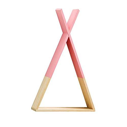 Yanhonin - Estantería tipi de madera – Estantería de par