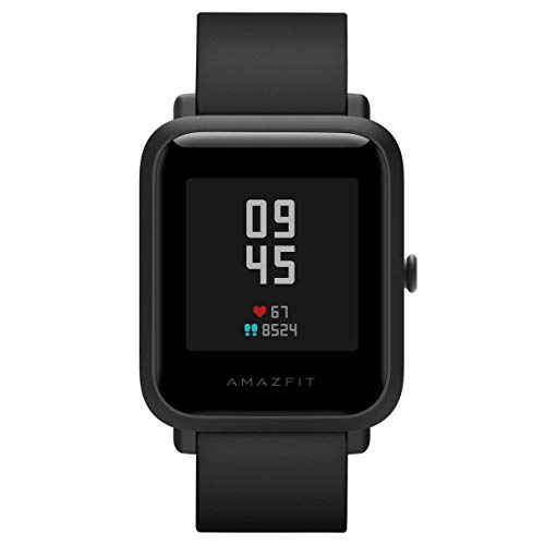 Amazfit Bip S Smartwatch 5 ATM GPS GLONASS intelligente orologio Bluetooth Bip 2 per Android e iOS versione Global (Nero)