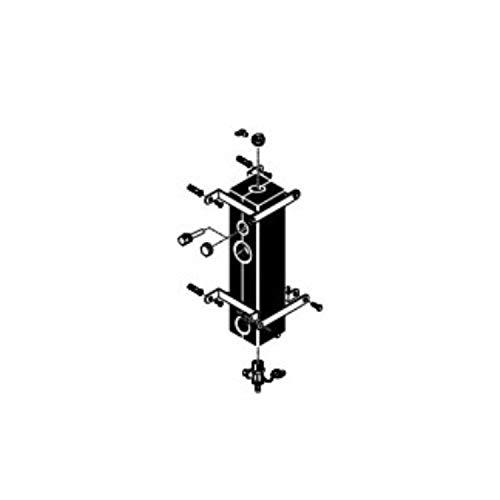 Desacoplador hidrálico con filtro magnético WH C 280 (21,000 L/h - conexiones DN100 embridada PN6) para Thermomaster Condens, Thermosystem Condens, 5 x 5 x 25 centímetros (referencia: 00201740