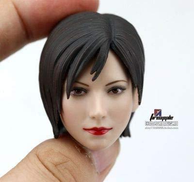 Esculpir cabeza Ada Wong escala 1/6 con pelo corto para mujer de 12 pulgadas, juguetes de acción corporal, B