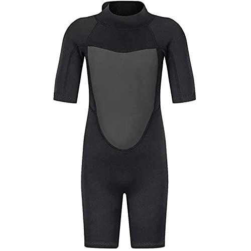 Kinder Tauchanzüge, Kinder Neoprenanzug Neenanzug Elastische Sonnenschutz Schwimmenanzug Overall zum Tauchen Schnorcheln Surfen Schwimmen (Größe : M)