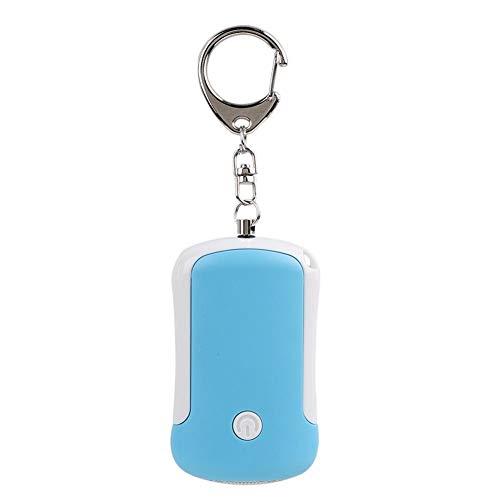 125DB High Decibel Persönlicher Alarm mit LED-Licht, Multifunktionale Sicherheit Persönlicher Alarm Schlüsselbund für ältere Frauen