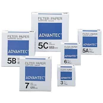 Advantec Max 62% OFF N05B11.0CM Grade 5B 5-10 Filters Quantitative Ashless Some reservation