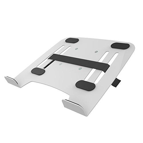 PureMounts PM-ADAPT-NBW Notebookhalterung für VESA Tischhalterungen weiß