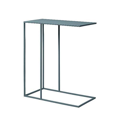 Blomus Unisex– Erwachsene Beistelltisch-66014 Beistelltisch, Steel Gray, One Size