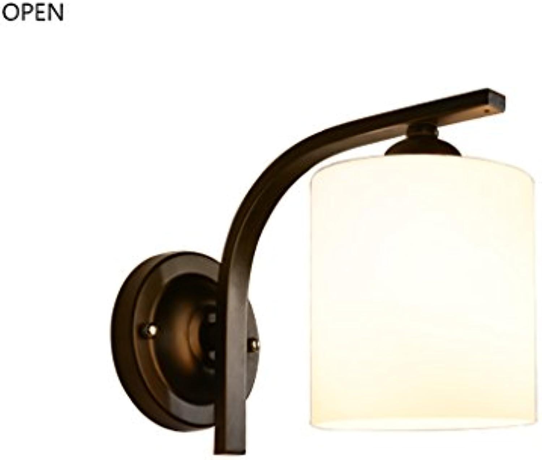 Best Wandleuchte- LED Nordic Creative Wandleuchten Schlafzimmer Nachttisch Wohnzimmer Balkon Gnge Treppe Einzelwand Wandleuchte E27