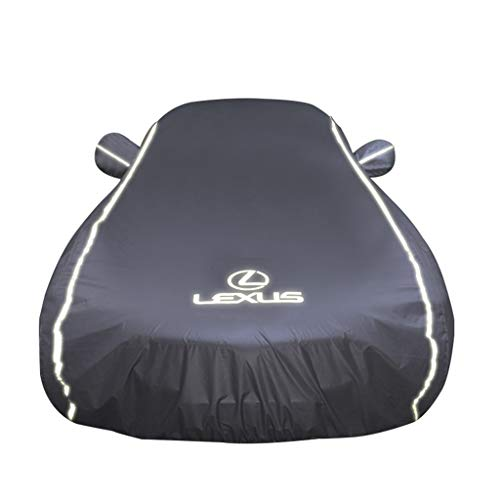 Car-Cover/Kompatibel mit Lexus RX/atmungsaktiv und wasserdicht Auto-Bekleidung Allwetter Four Seasons Car Cover Mobil Carport (Color : Silver, Size : RX300)