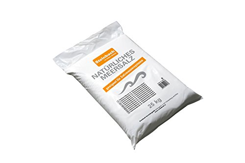 Steinbach Filteranlagenzubehör Meersalz, für Salzwassersysteme und Elektrolyseanlagen, 25 kg, 070690