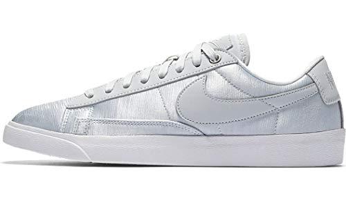 Nike Womens Blazer Low SE W Silbern Sneaker Low 42