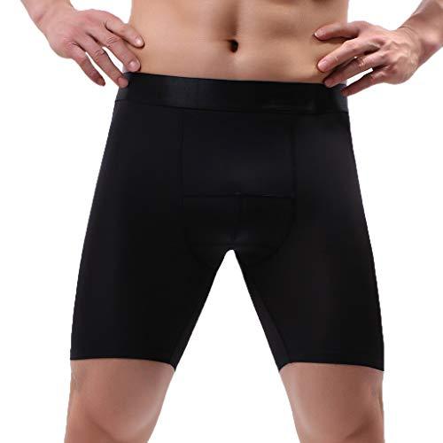 L-4XL Herren Ice Silk Sportwäsche Unterwäsche Männer Unterhose Briefs Underwear Panties Unterhosen Retroshorts Underpants CICIYONER
