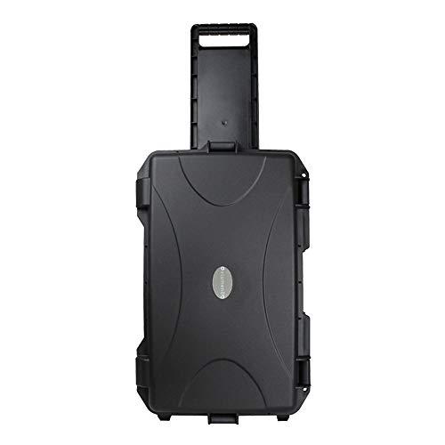eLumen8 Rock Box 12 Utility Trolley Case Flightcase ABS Touring Band DJ Heavy Duty
