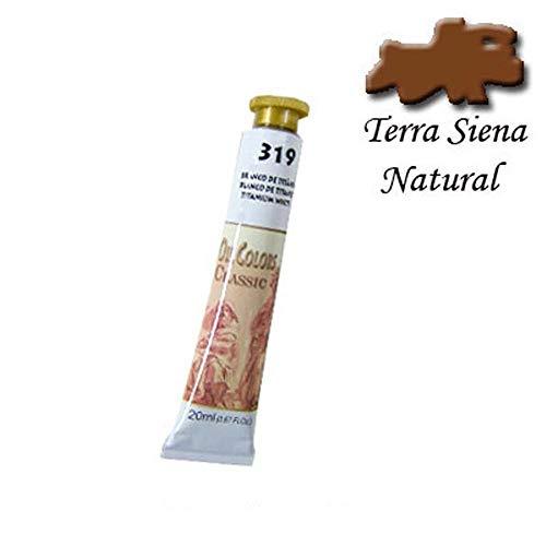 Tinta a Óleo Acrilex 20 ml Avulso Terra Siena Natural 336