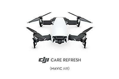 DJI Mavic Air - Care Refresh Warranty (Valid for 12 Months), Offers Two Replacement Units Within A Year, Water Damage Coverage, Rapid Support, Drone Warranty, Mavic Air Accessories