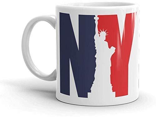 Kaffeebecher 11oz-New York City NYC 10oz Kaffee-Teebecher
