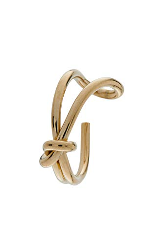 Córdoba Jewels | Anillo en Acero bañado en oro con diseño Nudo Goldfilled