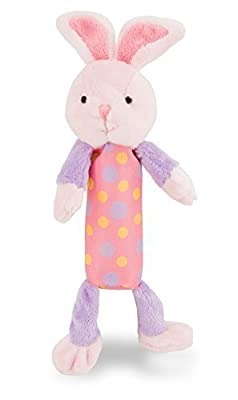"""Rich Frog Squeak Easy Bunny, Stuffed Animal, Educational Baby Crinkle and Squeaky Plush Toy - 8.5"""""""