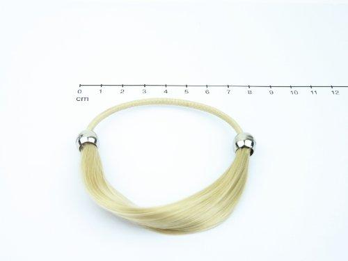 Unidas en Bel colour blanco y negro, Fashion anillo de la amistad de 'Marie', 1 A - Y Rubio