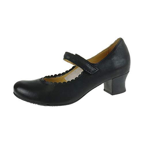 Brako Damenschuhe Damenpumps Rock Negro Minthy 61057041 (38 EU)
